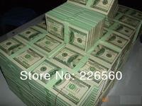 Free Shipping Wholesale 100Pieces $100 Bill 6.5-inch Dollar Memo Dollar Notepad Writing Pad (100 sheet)