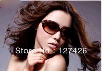 Wholesale 2013 Brand designer sunGlasses New Retro Inspired Fashion Women Round Sunglasses Free Shipping
