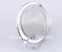 4.5cm Tea Infuser 304Stainless Steel Tea Pot Infuser Sphere Mesh Tea Strainer Tea Ball Good Quality 100PCS/Lot free shipping