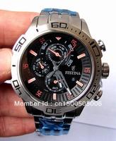Festina F16565-6 Herrenarmbanduhr Chronograph Edelstahl NEU
