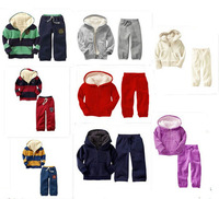 Boys and girls children's wear upset the lambs wool suit children suit winter thick coat of age season clothing