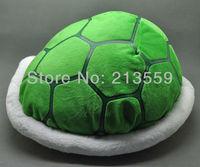 "Free Shipping 11.5"" New Super Mario Bros Cournot Turtle Shell Cushion Pillow Plush Toy Retail"