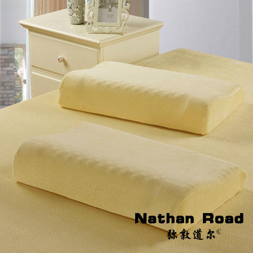 Extra large space memory pillow cervical health care pillow barley pillow slow rebound health care massage pillow(China (Mainland))