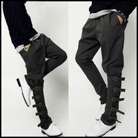 2012 two ways trousers non-mainstream harem pants casual pants male plus size available
