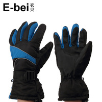 Male ski gloves waterproof gloves thickening thermal protective gloves motorcycle gloves