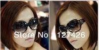 Free Shipping 2pcs/lot 2013 High Quality Fashion Luxury Women's Sunglasses Brand Design sunglasses For Women hot sale