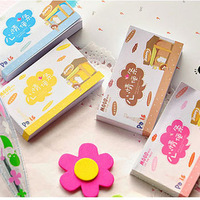 new office supplies,memo pad notes, colorful mini paper portable, self-adhesive notepad free shipping