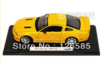 Wyly FORD sa for lee n2007 alloy car model yellow gift(China (Mainland))