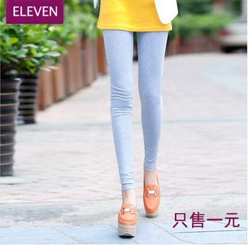 2013 summer candy color legging female plus size women's safety pants