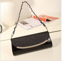 Han edition female bag 2013 new tide crocodile grain chain bag handbag hand bag lady's shoulder inclined cross bag mail