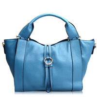 Hot selling vintage genuine leather women's handbag luxury cowhide one shoulder cross-body bag leather messenger tote
