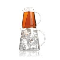 Heat-resistant Glass Teapot Tea Ice, Two