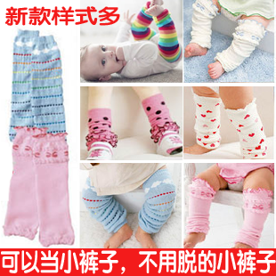 Hot sell Spring and summer thin stockinets child creepiness cuish kneepad male ankle sock baby legging socks breathable(China (Mainland))