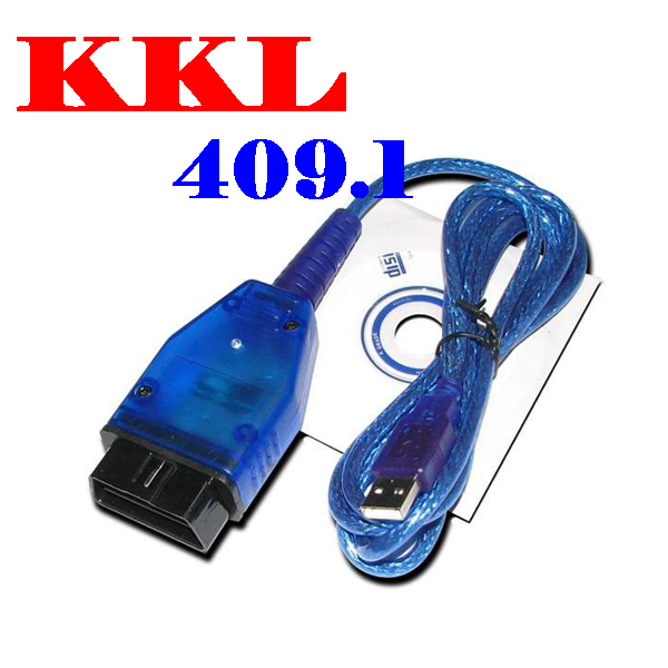 50% shipping fee USB Cable Car Diagnose tool KKL VAG 409.1 For AUDI/VW OBDII OBD2 COM Scanner(China (Mainland))