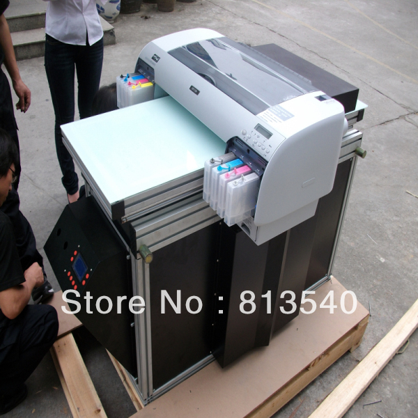 small uv flatbed printer with high resolution ,UV led lamp(China (Mainland))