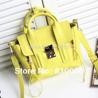 2014 New hottest 3.1 Pashli women genuine leather handbags bolsas Luxury brand designers purse tote messenger bag mini size