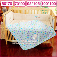 Super absorbent bamboo fibre 100% cotton air layer baby changing mat baby waterproof urine mattress