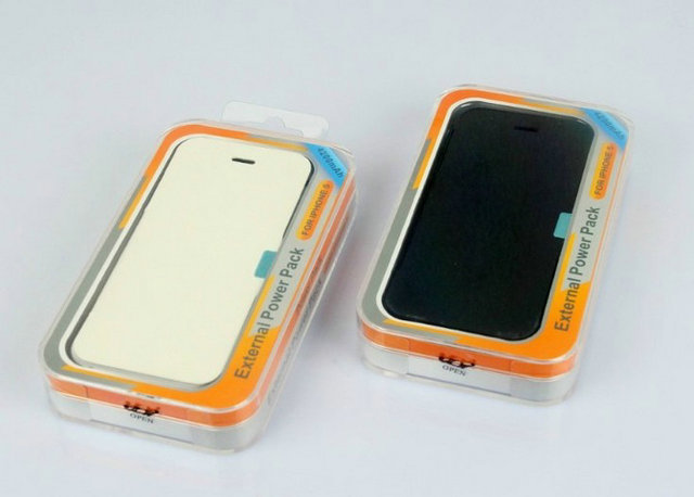 Free shipping DHL 50pcs/lot New power bank Case for iphone 5,external mobile battery charger with retail package(China (Mainland))