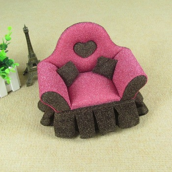 Wedding gift princess mini furniture sofa accessories jewelry box jewelry ring storage box