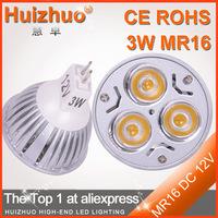 Wholesale low price 3W 12V MR16 LED lighting,Indoor decoration energy saving LED bulb MR16 led 12v