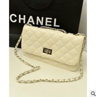 Special summer Black Quilted Chain Korean fashion mini shoulder handbag hand diagonal package small bag tide