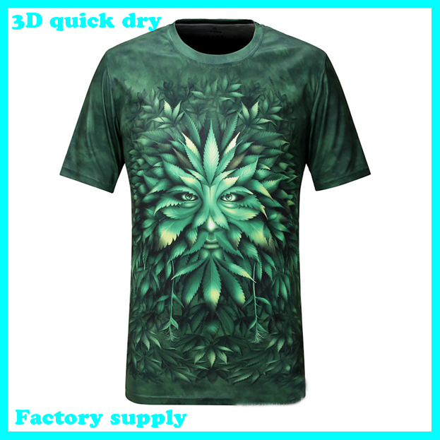 Free shipping New arrival quick dry t shirt for men 2013 mens o-neck cotton fashion t-shirt 3d t shirt men 20 model(China (Mainland))