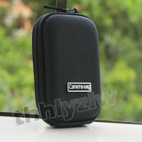D06 Black Universal portable DC Hard Bag Digital Camera Case Pouch for panasonic kodak ricoh Olympus canon nikon samsung kodak