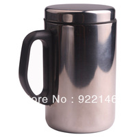 Free Shipping  350ml Tea Coffee Travel Mug Stainless Steel NEW