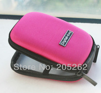 D03 New PINK portable Universal  Digital Camera Case Waterproof DC Hard BagPouch for canon nikon samsung sony kodak