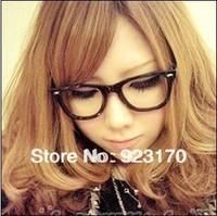 Min order is $12(mix order) free shipping  beauty princess meters non-mainstream plain mirror rivets eyeglasses frame