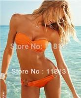 Bikini Free shipping Holiday Sale 2013 the newest Fashion Brand for woman Sexy bikini with PAD Hot swimsuits  swimwear beachwear