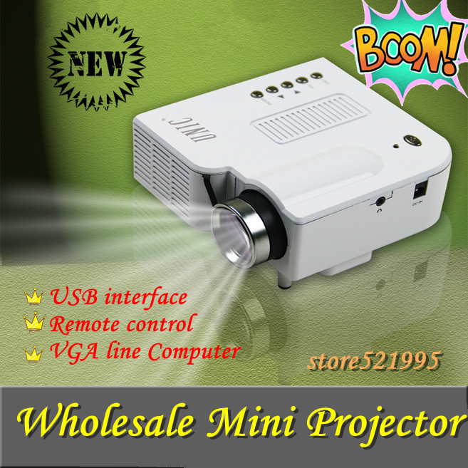 New !! Mini AV LED Digital Video Game Projector with Remote control Native 320 X 240 Multimedia player Inputs AV VGA USB SD card(China (Mainland))