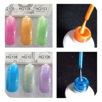 Free Shipping 15ml 5oz Lacquer 6pcs/Lot New Gel Soak-Off Uv Gel Polish Nail Art LED 108 Colors Available Wholesale