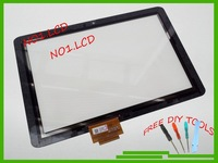 100% Original 10.1'' Acer iconia tab A200 LCD touch screen digitizer panel glass