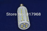 5630 42 leds 110-130V/AC 12w 1260lm E14 corn bulb led bulb  Free shipping SMD Warm White White