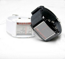 Skmei brief fashion unisex table led luminous sports electronic watch male Women (Mix Order,Free Shipping)(China (Mainland))