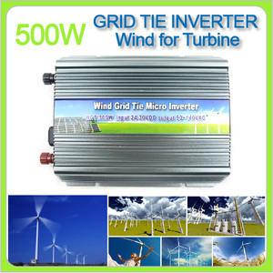 500 Watt Grid Tie Power Inverter for Wind Turbine Generator 24 30VDC Free Shipping