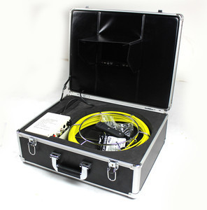 Drain Pipe Sewer Pipeline Inspection Camera Video Snake w DVR 30M 100ft 1GB TF(China (Mainland))