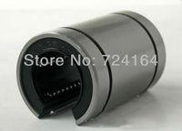 10PCS 16mm  LM16UUOP LM16OP LM16UU-OP open linear motion ball bearing bush bushing for CNC DIY  Engraving machine