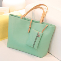 2013 women's fashion vintage hand bags new style bucket genuine PU leather shoulder bag candy color JS-9087