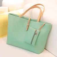 HOT 2014 Fashion Women's Candy Color PU Leather Handbags/ Shoulder Bags JS9787