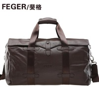 Feger male commercial travel bag boarding commercial travel bag cowhide man bag
