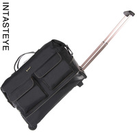 Intastey waterproof large capacity multi-pocket commercial portable travel bag trolley bag