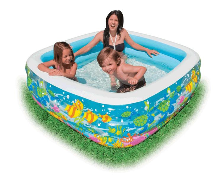 Intex-57471 paddling pool inflatable baby swimming pool sand pool ocean ball pool(China (Mainland))