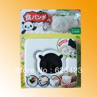 Hot Sale! Free Shipping Brand New Lovely Cartoon Panda Shape DIY Plastic Sushi Mold for Sandwish Sushi Maker & Sandwish Mould