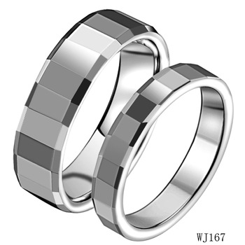 Min.order is $9.9 (mix order) 2012 wedding accessories fashion jewelry tungsten steel lovers rings import jewelry from china