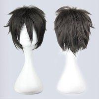 short Cosplay Costume Wigs Sword Art Online Kirito/kirigaya kazuto Short Party Hair 32cm black