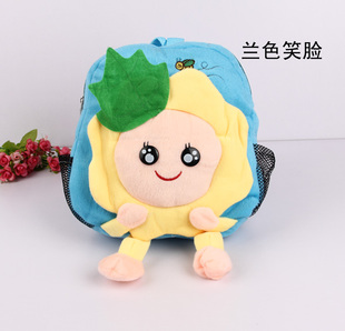 Infant backpack cartoon bag animal style children toys plush backpack(China (Mainland))