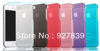 0.5mm Ultra Thin case for iPhone 5G, Slim Matte frosting Transparent Cover Case For iPhone 5 Wholesale Free Shipping