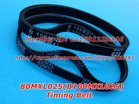 Rubber 80 MXL 025 or B100 MXL 025 Ttiming belt width 6.35mm length 203.2mm for DIY Ultimaker clone